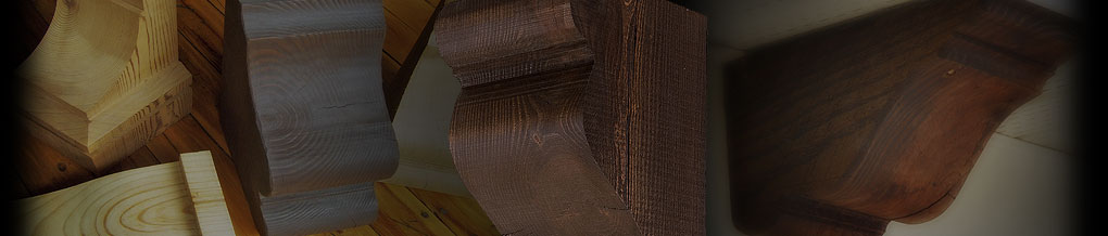 Wood Corbel