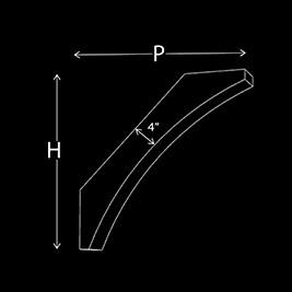 Corner Brace Ser-2 Dimensions
