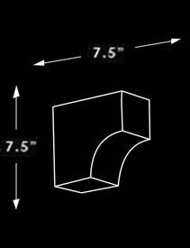 CV1 Corbel Dimensions