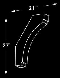 Corner Brace T3S Dimensions