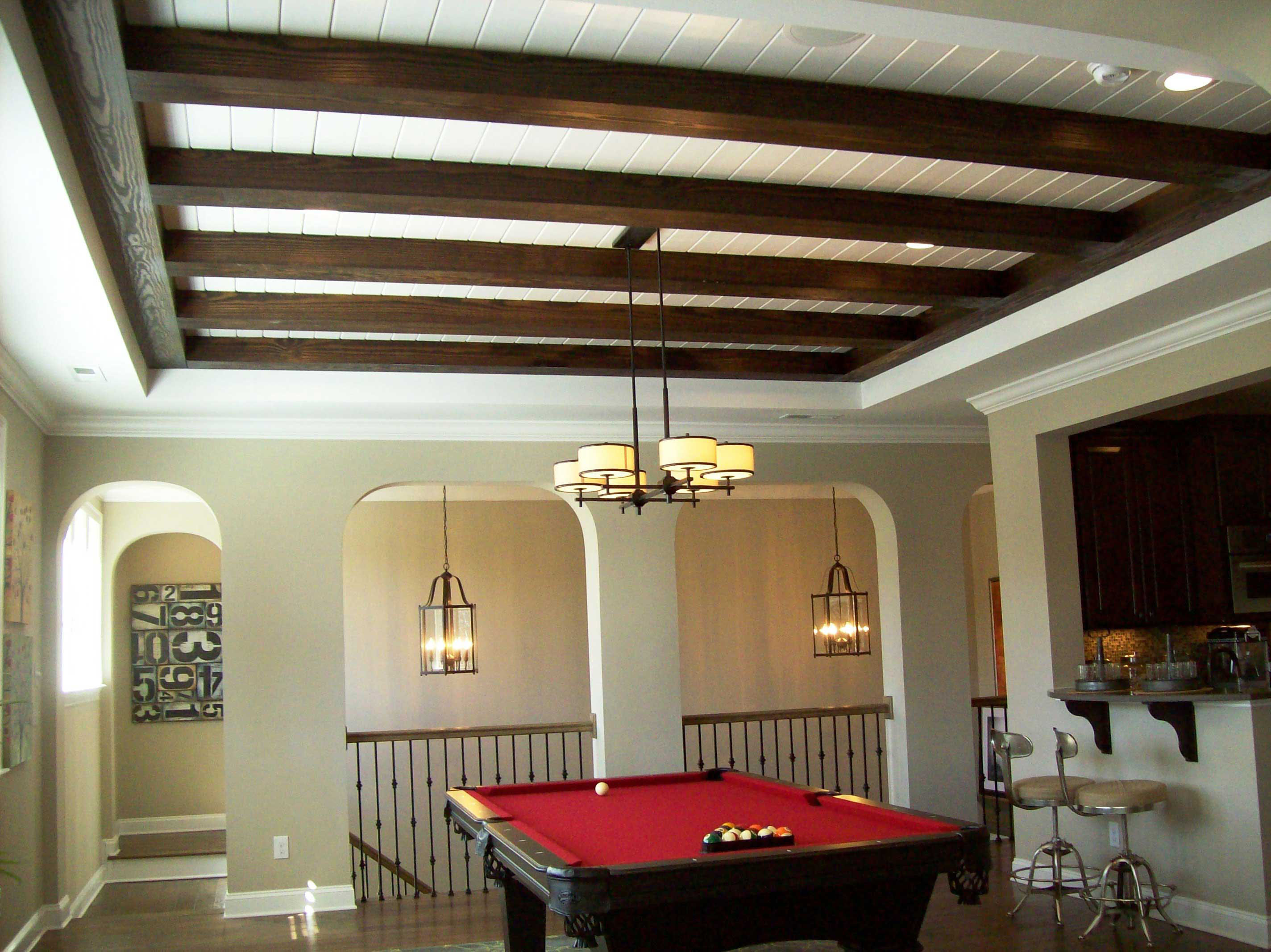 Faux Ceiling Beams.Faux Painting Ceiling Beams To Look ...