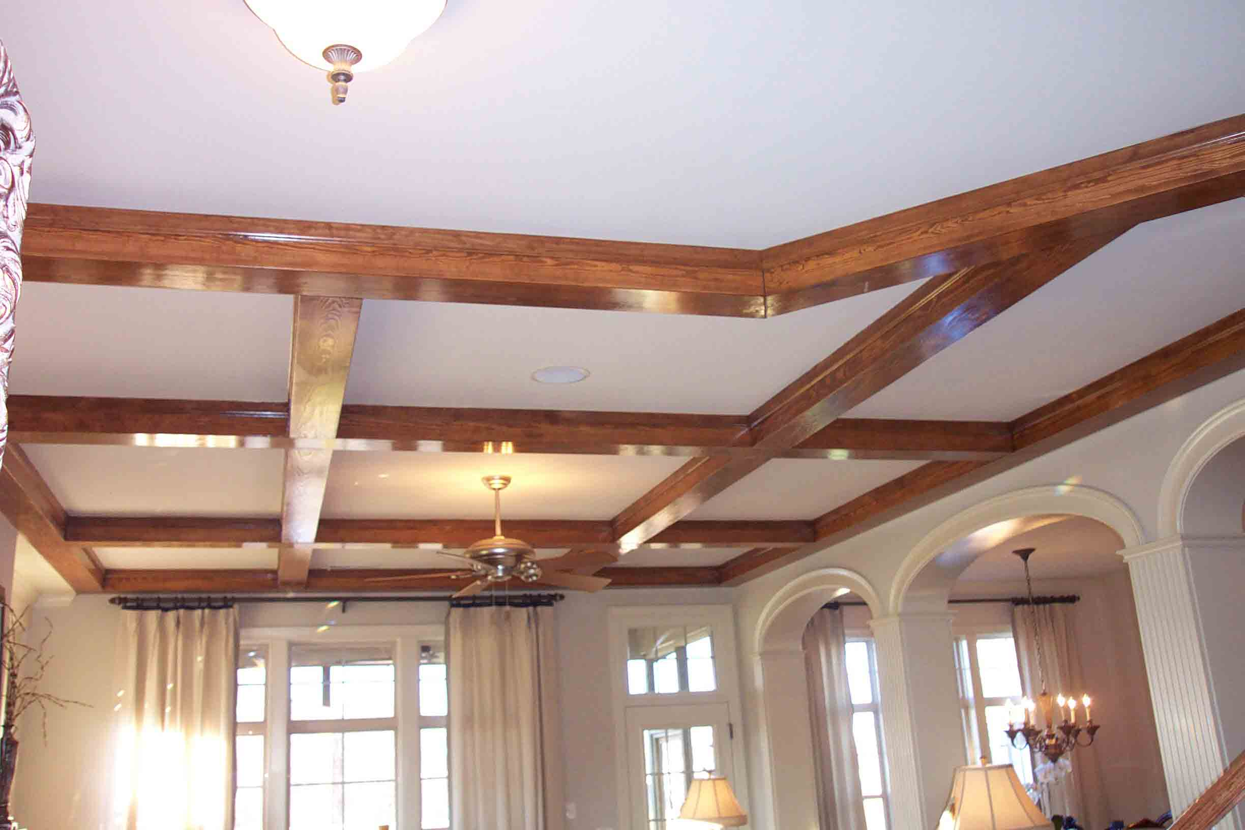 Beam design considerations southern woodcraft for How to add beams to a ceiling