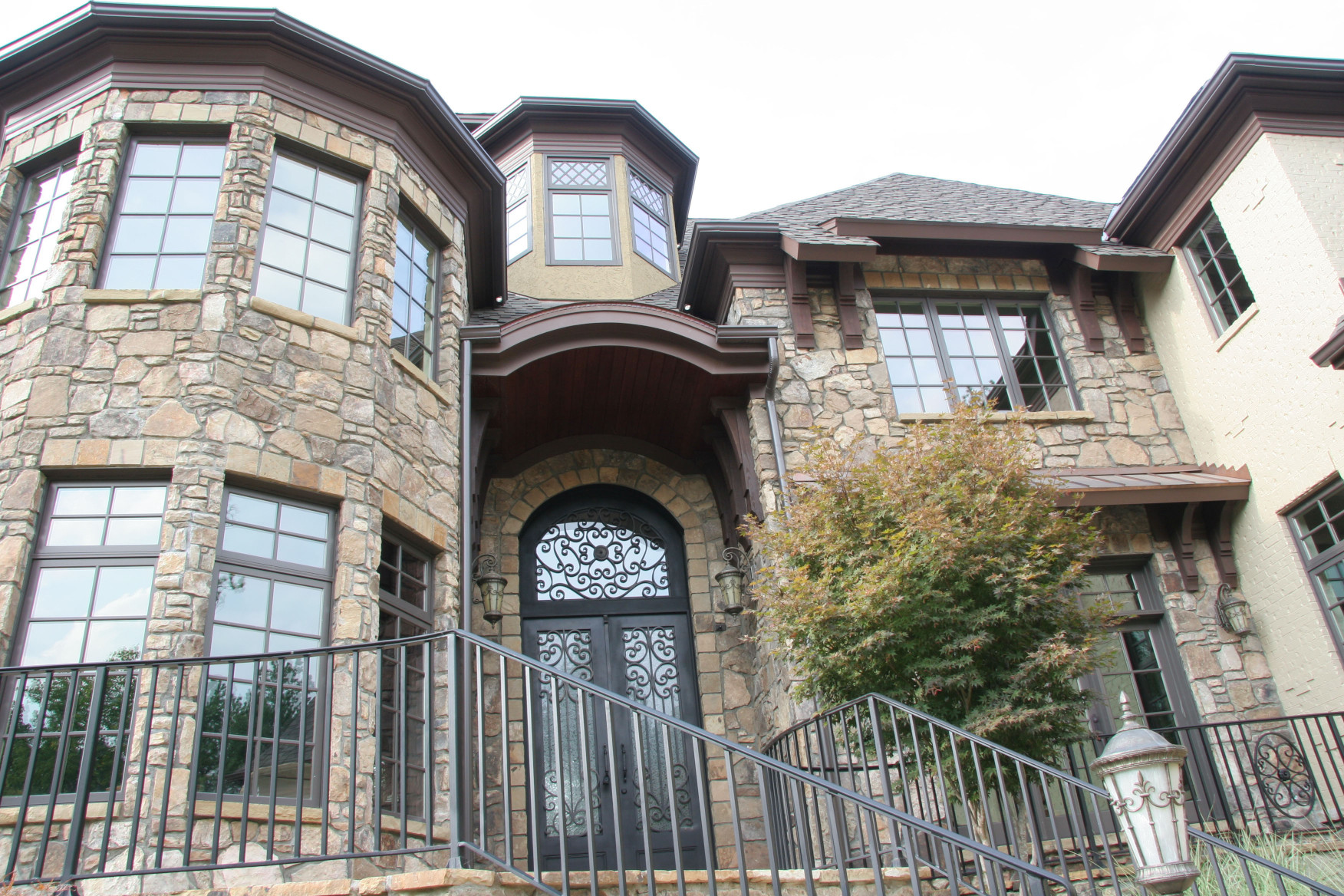 Corbels and Brackets custom designed for this home are a great example of how our products can be just the right touch for your home.