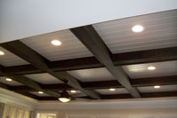 Coffered Ceiling Beam Application