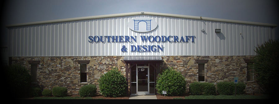 Southern Woodcraft & Design's facility for producing specialty timber products for interior, exterior and landscape applications.