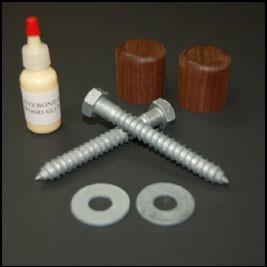Corner Brace Hardware Kit