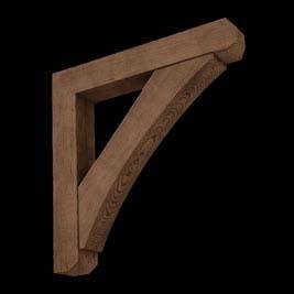 Wood Bracket OC6