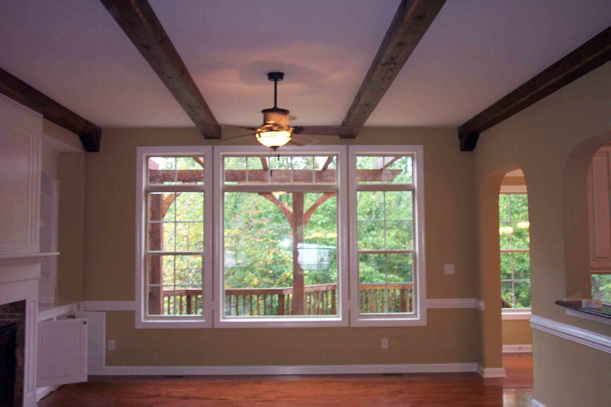 Wood Box Beams are the perfect addition to the interior of your home.