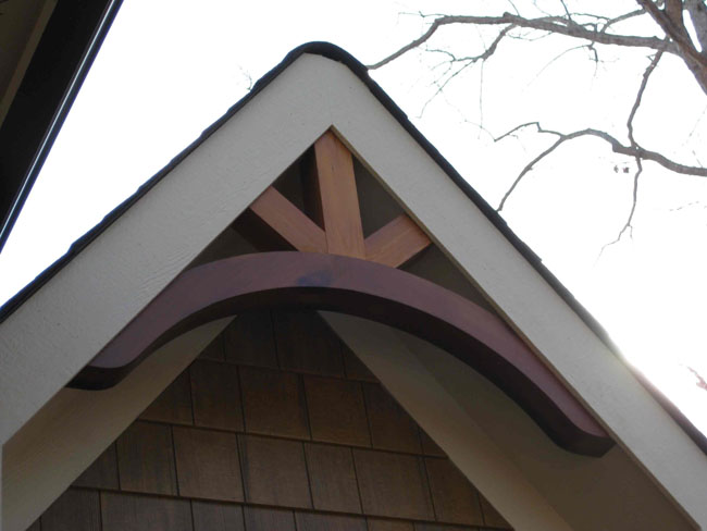Curved Gable Bracket