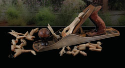 Hand plane tool for smoothing timber surfaces